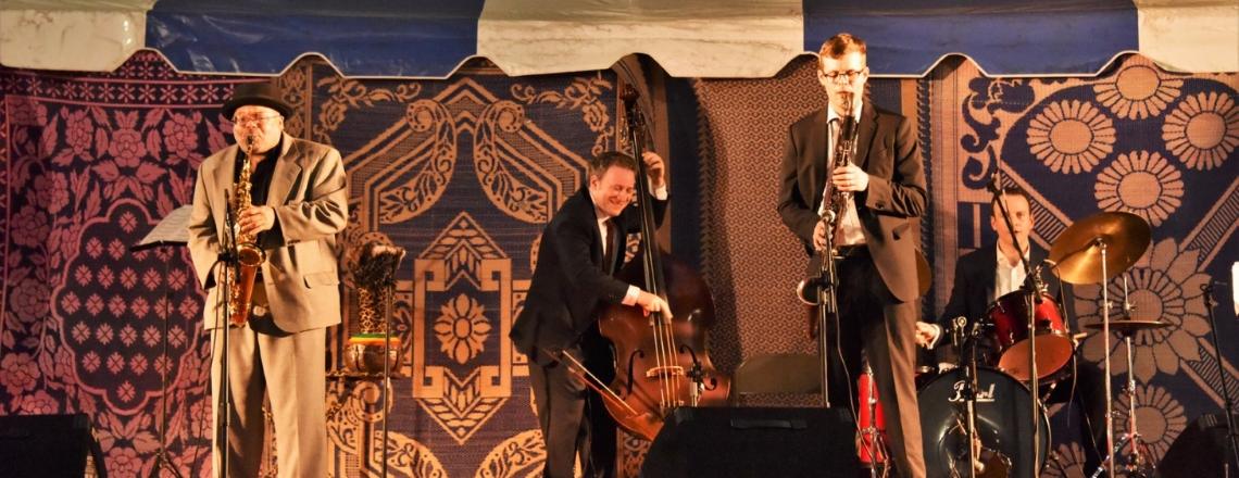 ARI Roland Jazz Quartet au Bénin