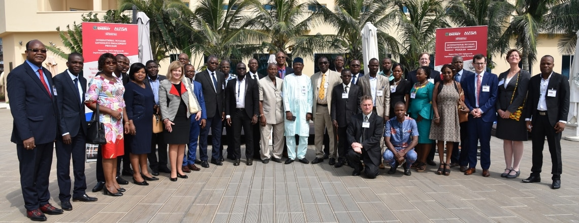 The United States Supports Benin's Peaceful Use of Nuclear Technology